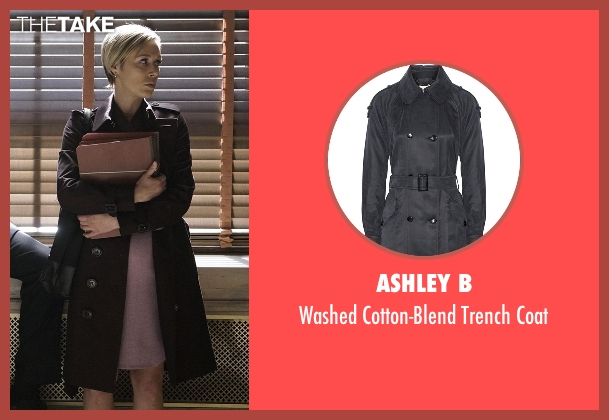Ashley B black coat from How To Get Away With Murder seen with Bonnie Winterbottom (Liza Weil)