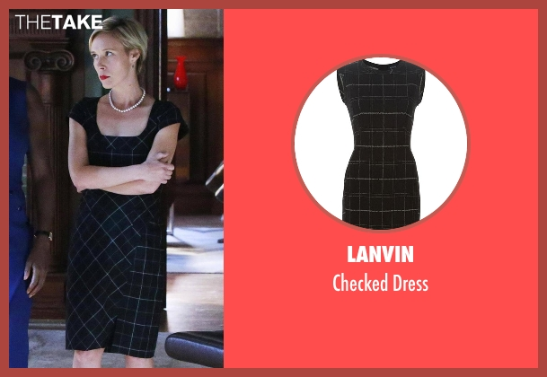Lanvin black dress from How To Get Away With Murder seen with Bonnie Winterbottom (Liza Weil)
