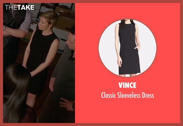 Vince black dress from How To Get Away With Murder seen with Bonnie Winterbottom (Liza Weil)