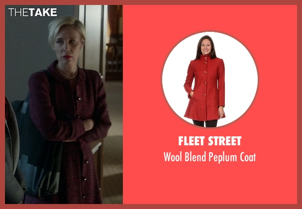 Fleet Street red coat from How To Get Away With Murder seen with Bonnie Winterbottom (Liza Weil)