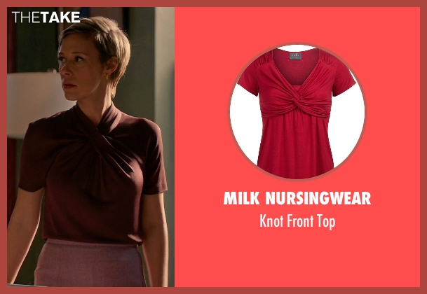 Milk Nursingwear red top from How To Get Away With Murder seen with Bonnie Winterbottom (Liza Weil)