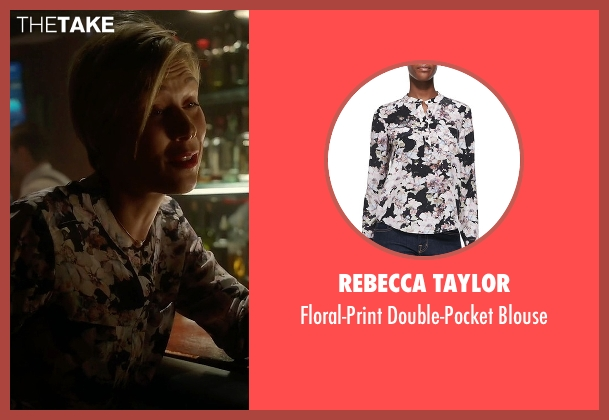Rebecca Taylor white blouse from How To Get Away With Murder seen with Bonnie Winterbottom (Liza Weil)