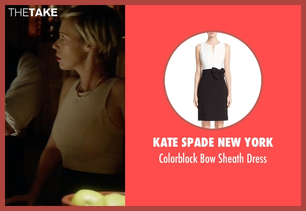Kate Spade New York white dress from How To Get Away With Murder seen with Bonnie Winterbottom (Liza Weil)