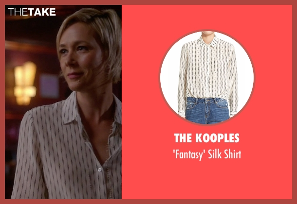 The Kooples white shirt from How To Get Away With Murder seen with Bonnie Winterbottom (Liza Weil)