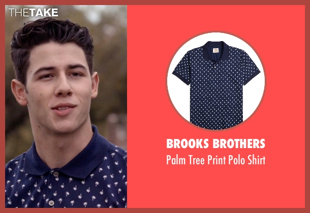 Brooks Brothers blue shirt from Scream Queens seen with Boone (Nick Jonas)