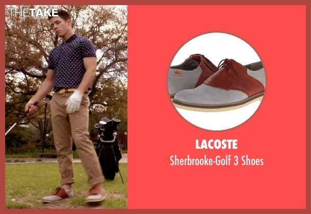Lacoste gray shoes from Scream Queens seen with Boone (Nick Jonas)