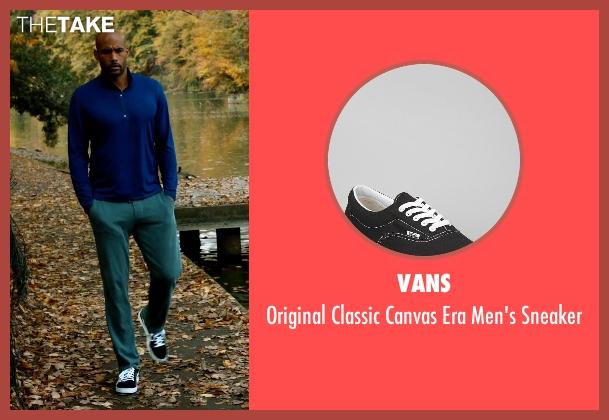 Vans black sneaker from Addicted seen with Boris Kodjoe (Jason Reynard)