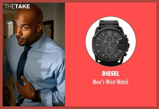 Diesel black watch from Addicted seen with Boris Kodjoe (Jason Reynard)
