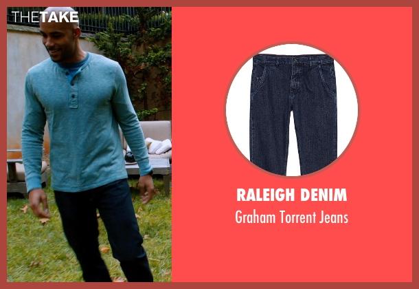 Raleigh Denim blue jeans from Addicted seen with Boris Kodjoe (Jason Reynard)