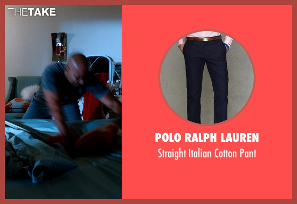 Polo Ralph Lauren blue pant from Addicted seen with Boris Kodjoe (Jason Reynard)
