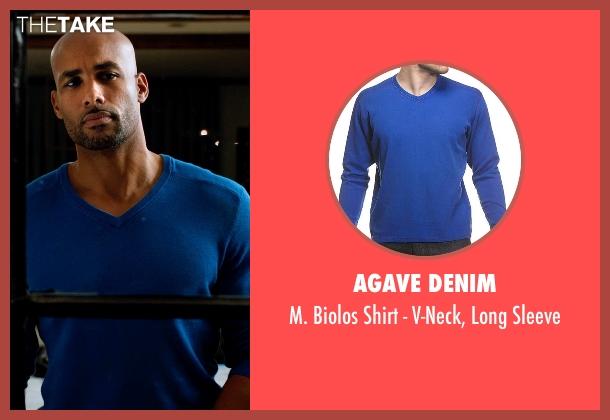 Agave Denim blue sleeve from Addicted seen with Boris Kodjoe (Jason Reynard)
