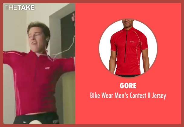 Gore red jersey from Burn After Reading seen with Brad Pitt (Chad Feldheimer)