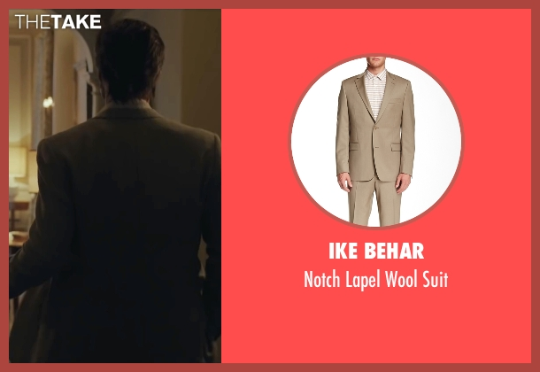 Ike Behar beige suit from By the Sea seen with Brad Pitt (Roland)