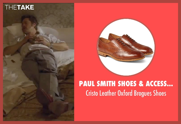 Paul Smith Shoes & Accessories brown shoes from By the Sea seen with Brad Pitt (Roland)