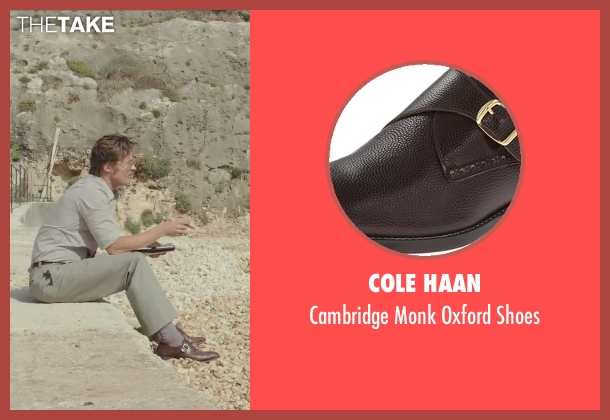 Cole Haan brown shoes from By the Sea seen with Brad Pitt (Roland)