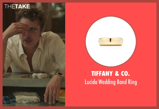 Tiffany & Co. gold ring from By the Sea seen with Brad Pitt (Roland)
