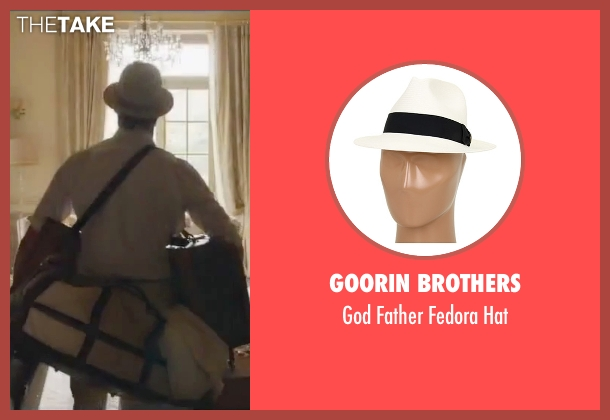 Goorin Brothers white hat from By the Sea seen with Brad Pitt (Roland)