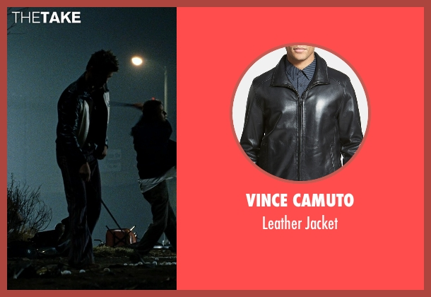 Vince Camuto black jacket from Fight Club seen with Brad Pitt (Tyler Durden)