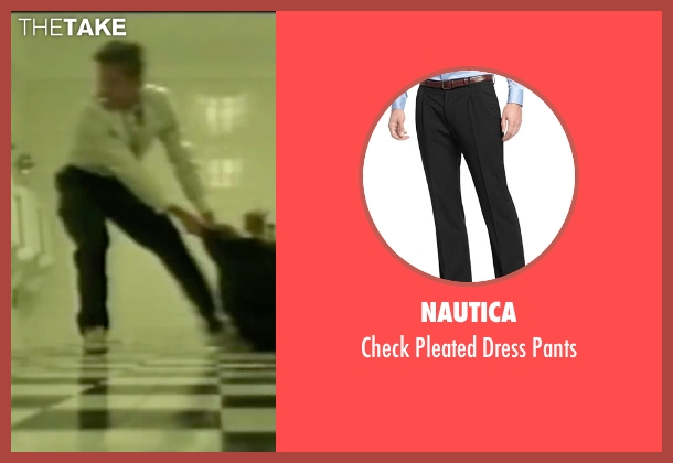 Nautica black pants from Fight Club seen with Brad Pitt (Tyler Durden)