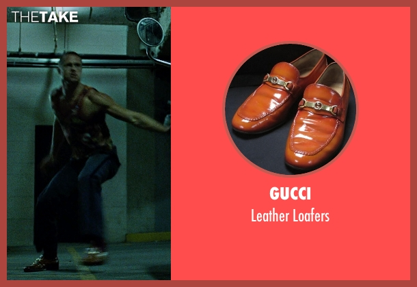 Gucci brown loafers from Fight Club seen with Brad Pitt (Tyler Durden)