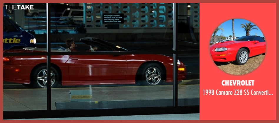 Chevrolet car from Fight Club seen with Brad Pitt (Tyler Durden)