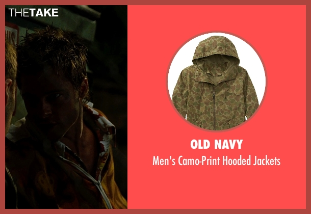 Old Navy jackets from Fight Club seen with Brad Pitt (Tyler Durden)