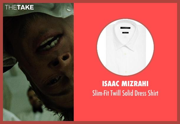 Isaac Mizrahi white shirt from Fight Club seen with Brad Pitt (Tyler Durden)