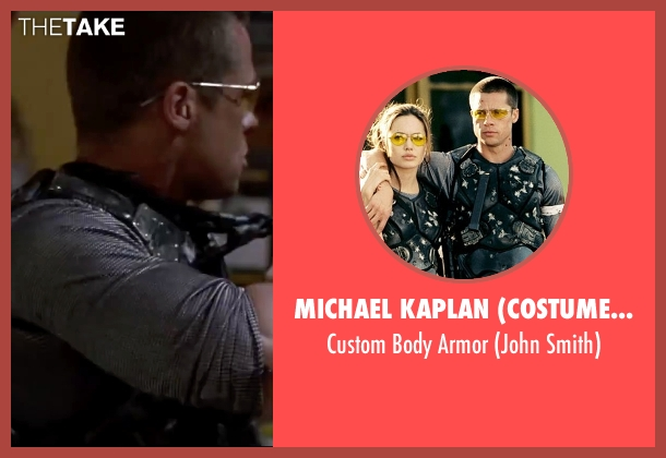 Michael Kaplan (Costume Designer) armor from Mr. & Mrs. Smith seen with Brad Pitt (John Smith)