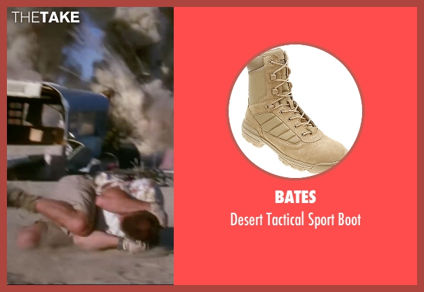 Bates beige boot from Mr. & Mrs. Smith seen with Brad Pitt (John Smith)
