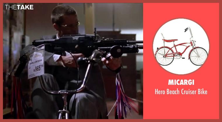 Micargi bike from Mr. & Mrs. Smith seen with Brad Pitt (John Smith)