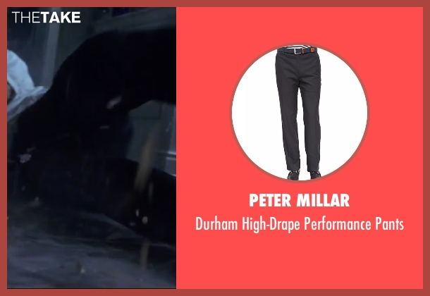 Peter Millar black pants from Mr. & Mrs. Smith seen with Brad Pitt (John Smith)