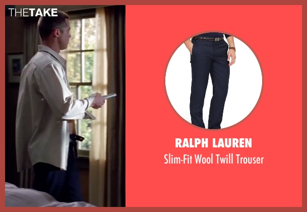 Ralph Lauren blue trouser from Mr. & Mrs. Smith seen with Brad Pitt (John Smith)