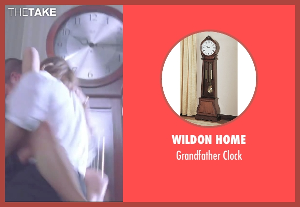 Wildon Home clock from Mr. & Mrs. Smith seen with Brad Pitt (John Smith)