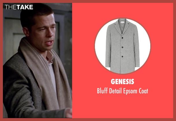 brad pitt genesis bluff detail epsom coat from mr amp mrs
