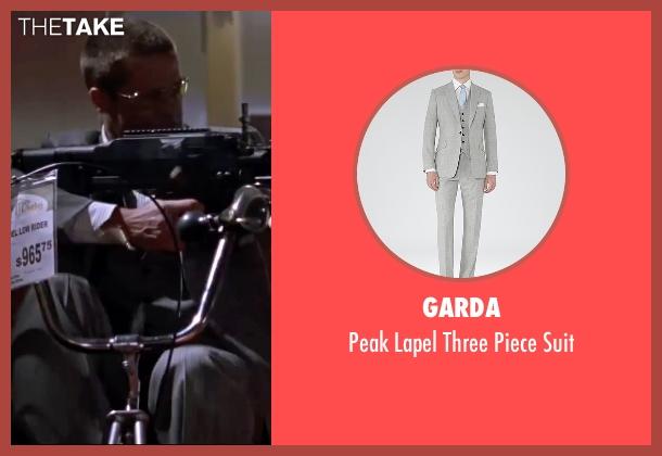 Garda gray suit from Mr. & Mrs. Smith seen with Brad Pitt (John Smith)