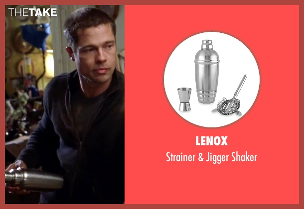 Lenox shaker from Mr. & Mrs. Smith seen with Brad Pitt (John Smith)