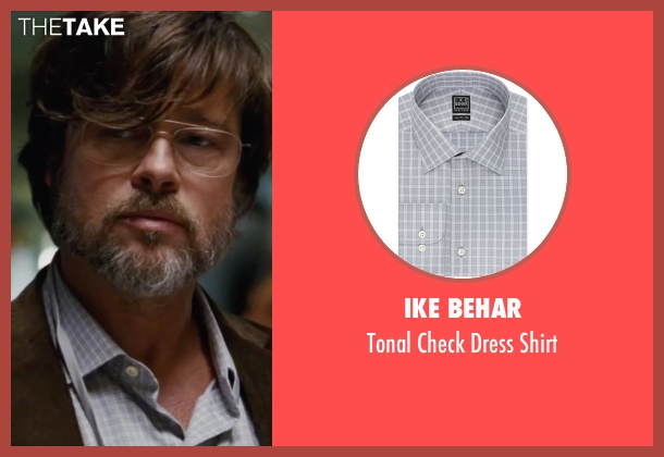 Ike Behar gray shirt from The Big Short seen with Brad Pitt (Ben Rickert)