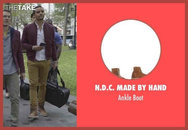 N.d.c. Made By Hand brown boot from Quantico seen with Brandon Fletcher (Jacob Artist)