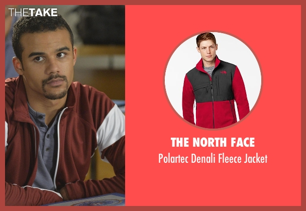 The North Face red jacket from Quantico seen with Brandon (Jacob Artist)