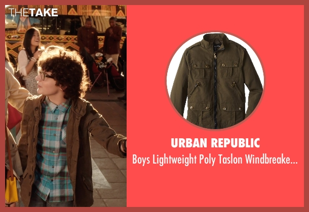 Urban Republic brown jacket from Blended seen with Braxton Beckham (Brendan Reynolds)