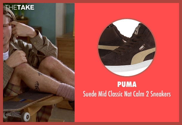 Puma brown sneakers from Clueless seen with Breckin Meyer (Travis)