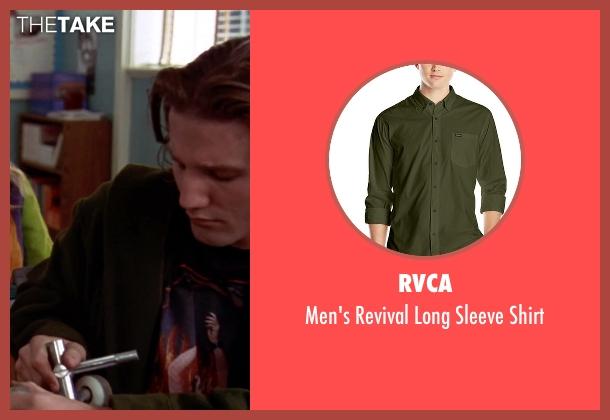 RVCA green shirt from Clueless seen with Breckin Meyer (Travis)