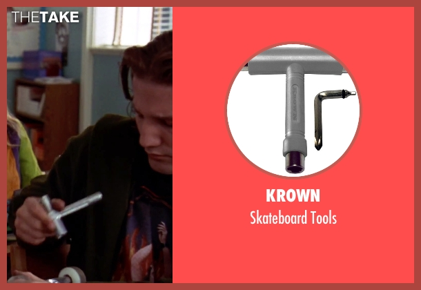 Krown tools from Clueless seen with Breckin Meyer (Travis)