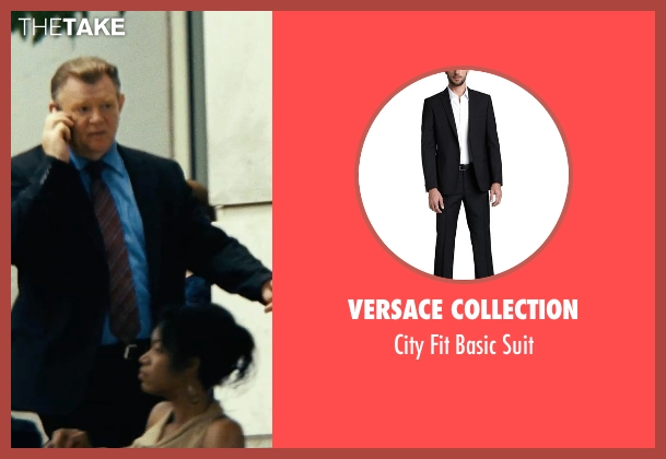 Versace Collection black suit from Safe House seen with Brendan Gleeson (David Barlow)