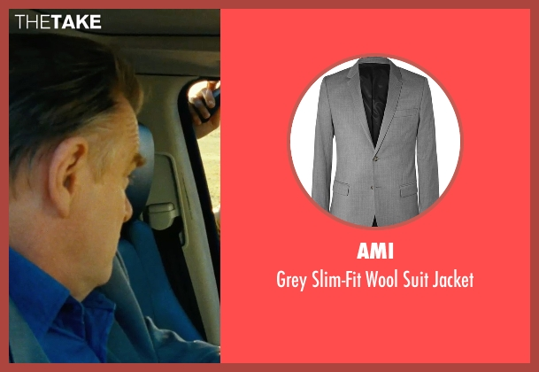 Ami gray jacket from Safe House seen with Brendan Gleeson (David Barlow)
