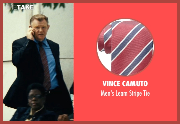 Vince Camuto red tie from Safe House seen with Brendan Gleeson (David Barlow)