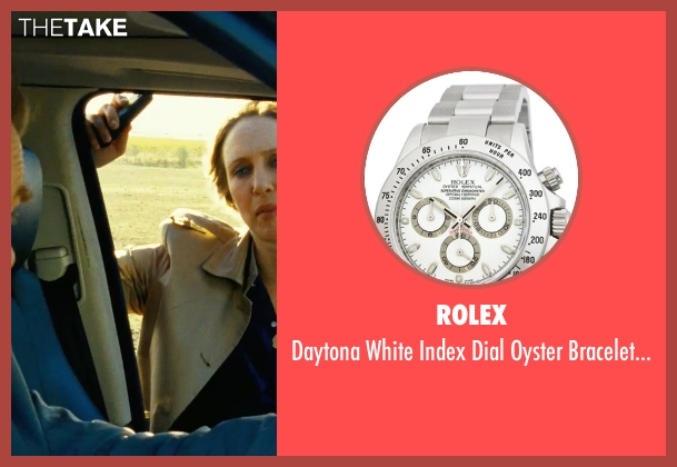 Rolex silver watch from Safe House seen with Brendan Gleeson (David Barlow)