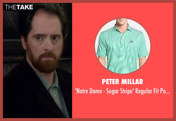 Peter Millar green shirt from Horrible Bosses 2 seen with Brendan Hunt (Jerry)