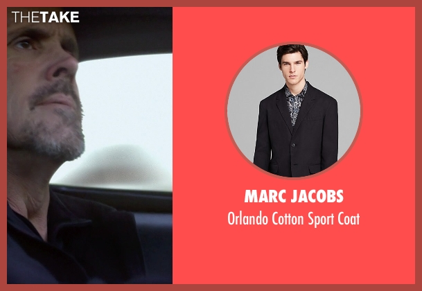 Marc Jacobs black coat from Need for Speed seen with Brent Fletcher (Texas Mike)