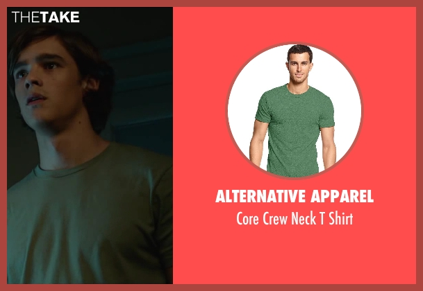 Alternative Apparel shirt from Oculus seen with Brenton Thwaites (Tim Russel)